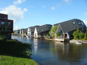 Waterfront homes in Almere